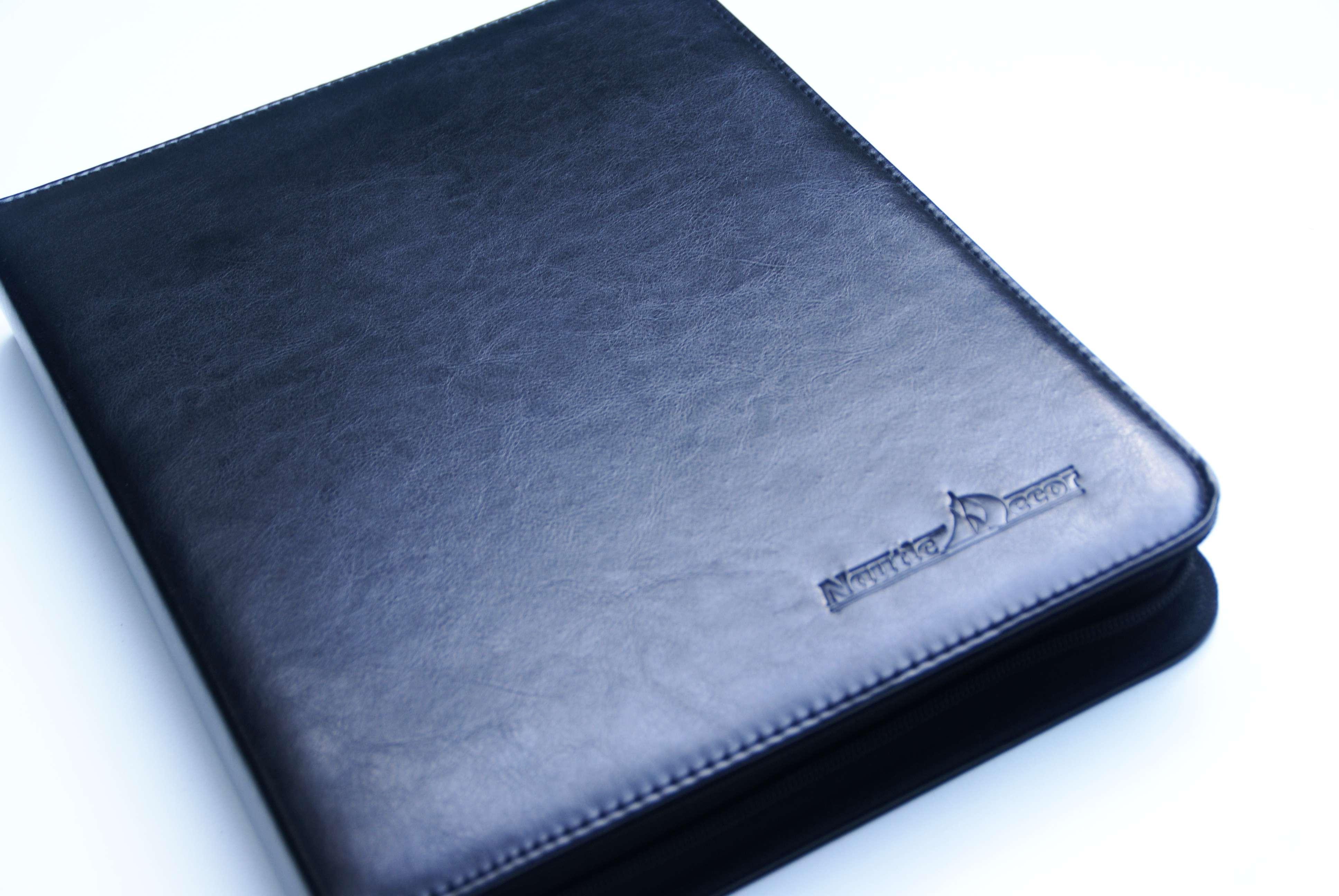 c5f7906718784 Teczka biwuar na dokumenty marynarskie GRANDE EDM5 czarna format A4  dedykowana dla posiadaczy certyfikatów formatu A4 ...